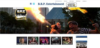BRP Entertainment website SEO
